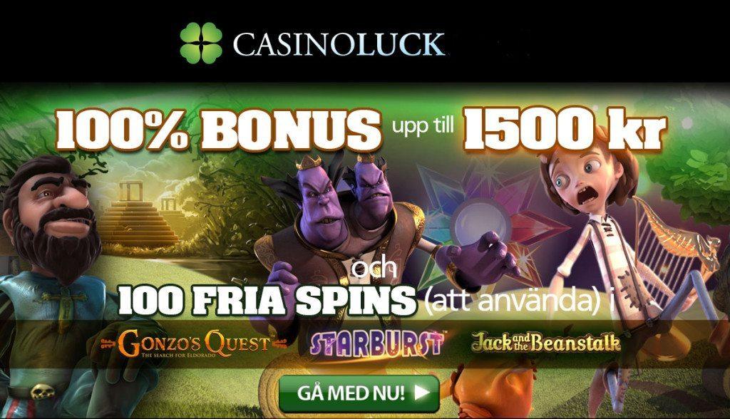 Casino välkomsterbjudande 60650