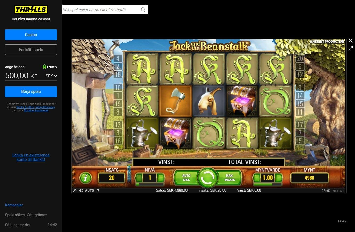 Casino provspela slot som 143842