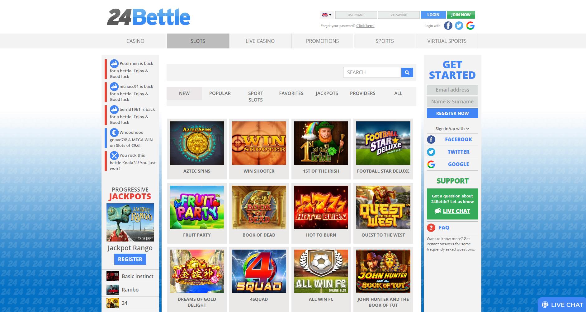 Recension Svenskt casino 24bettle 141288