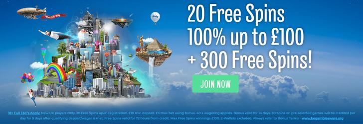 Nyårs bonus freespins 125162