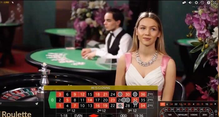 Svensk roulette Booming Games 146963