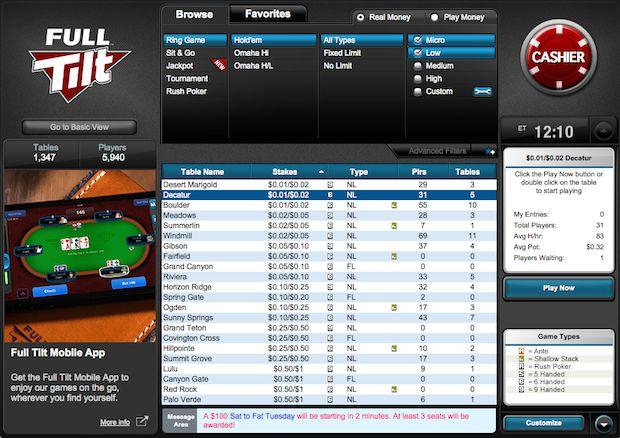 Full tilt poker sveriges 79019