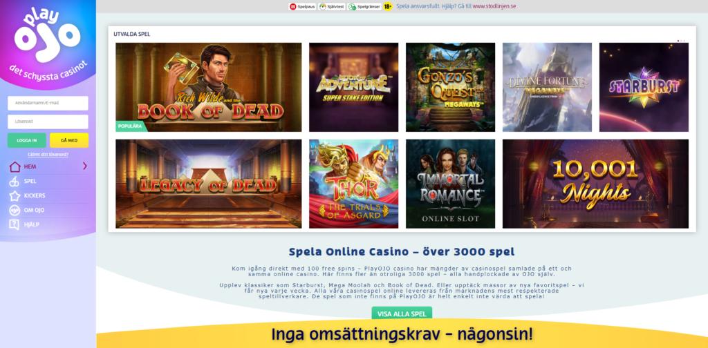 Svensk casino med 3D 149772