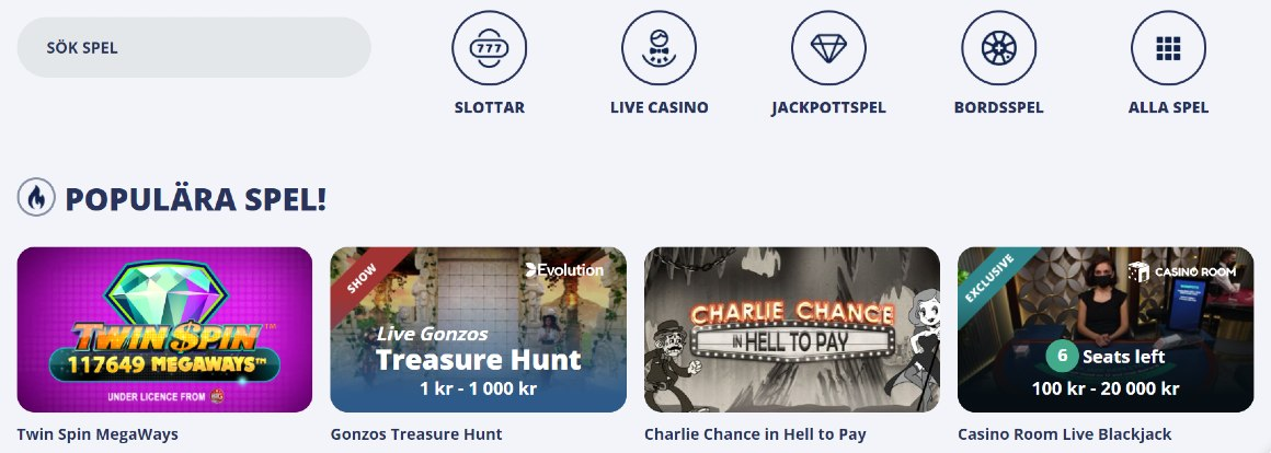 Casino room bonuskod 100536