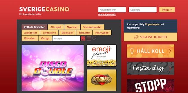 Nyaste casino utan 18386