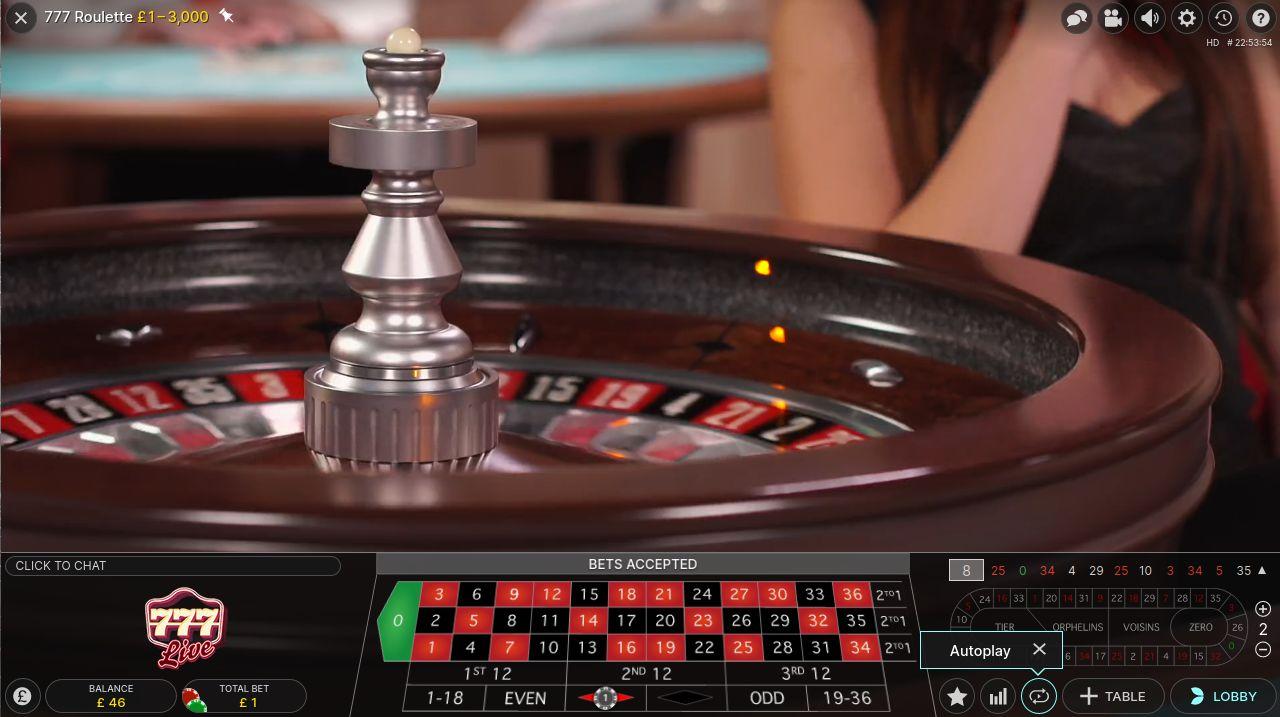Roulette wheel simulator 147072